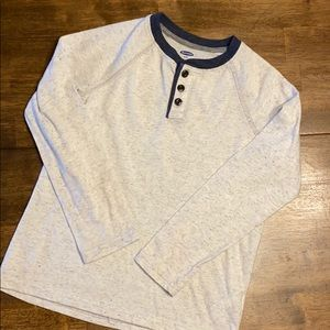 Old navy grey long sleeve T-shirt